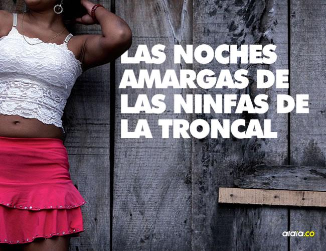 Son cerca de 16 niñas, 25 jóvenes y cuatro transgéneros quienes ofrecen sexo a cambio de dinero, sobre la Troncal, en la región de los Montes de María. Las llaman las 'muleras'. | AL DÍA