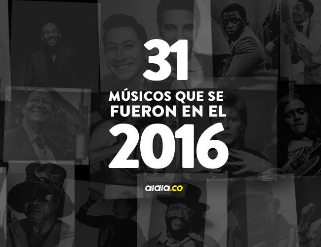 La mayoría de estas 31 estrellas de la música eran consideradas precursores dentro de sus géneros. Todas dejan un legado invaluable para el arte   Al Día