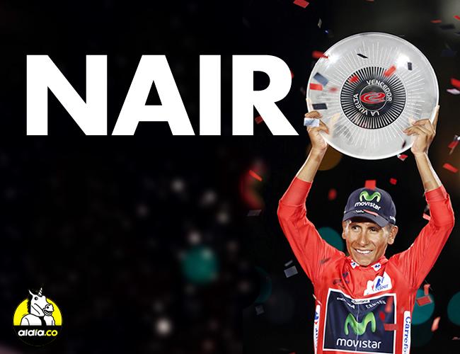 El colombiano Nairo Quintana hizo su sueño realidad con el triunfo absoluto en la edición 71 de la Vuelta a España. | Archivo