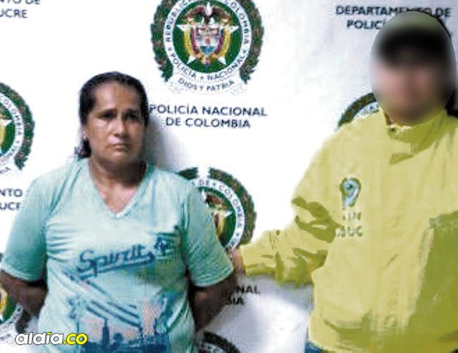 Ofelia del Socorro Ceballos López fue capturada en Chochó (Sincelejo) mediante una orden de captura en su contra. | AL DÍA