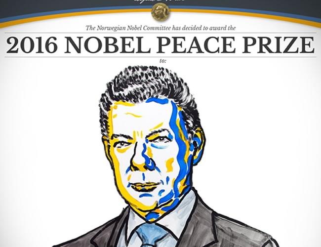 """""""El hecho de que la mayoría de los votantes dijera no al acuerdo de paz no significa necesariamente que el proceso de paz esté muerto. El referéndum no fue un voto por o contra la paz"""", insistió el Comité Nobel en su fallo."""