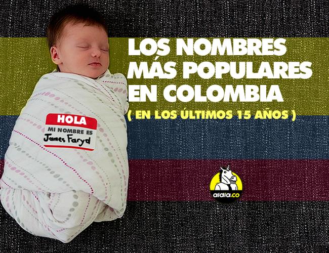 Los nombres más escogidos son, para hombres, Santiago con 110.035 niños; y para mujeres, Valentina, con 91.456 niñas. | ALDIA.CO