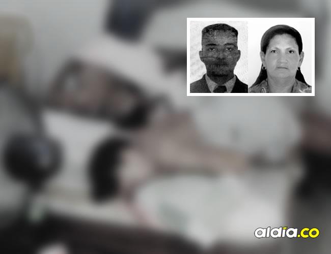 Tendidos sobre una cama fueron hallados los cadáveres de César Arriaga Contreras, de 26 años, y Rosa Mercedes Campo Suárez, de 55. Las autoridades no manejan todavía alguna hipótesis sobre el doble crimen en Fundación | Vlador y Chu Solano