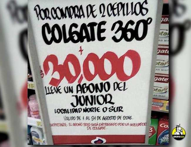 El abono de la promoción es el tipo II, que vale $60.000 e incluye 10 partidos de la Liga Águila, 1 partido de la Copa Suramericana y 1 partido de la Copa Águila. | Twitter