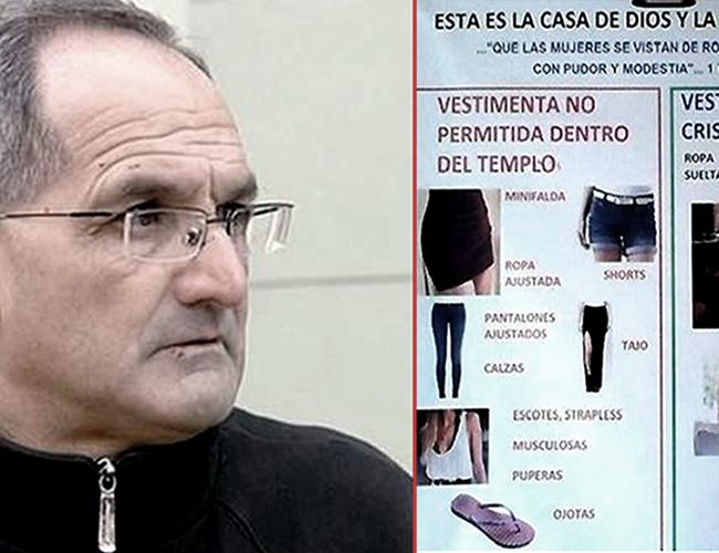 Carlos Scarlata párroco de la iglesia San Isidro Labrador fue el promotor de la medida. | Foto: www.elonce.com