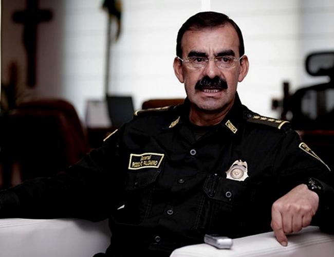 General Rodolfo Palomino puso a disposición su cargo al Presidente de la República | Foto: Europapress