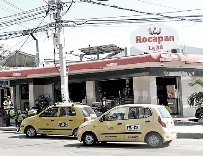 El hecho se registró en la Panadería Rocapan, ubicada en la calle 56 con carrera 38 | Foto: Al Día
