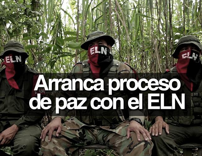 Este anuncio sería la culminación de la fase exploratoria de los diálogos de paz con el ELN, que se inició a principios de 2014. | Archivo