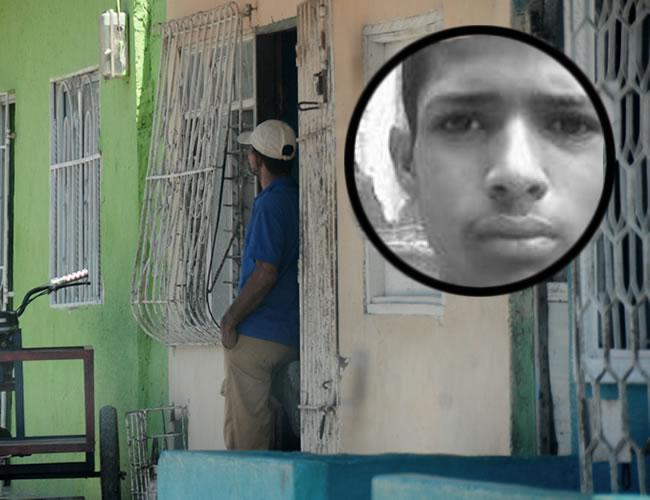 En esta casa vivía el quinceañero con sus familiares | Foto: Al Día