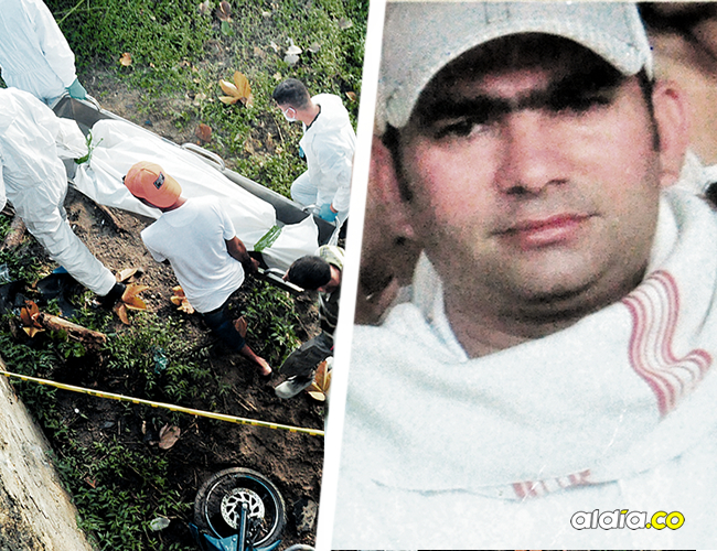 Ambos hombes cayeron de dos metros de altura. Los familiares de Javier González Vásquez reclamaron su cuerpo. | AL DÍA