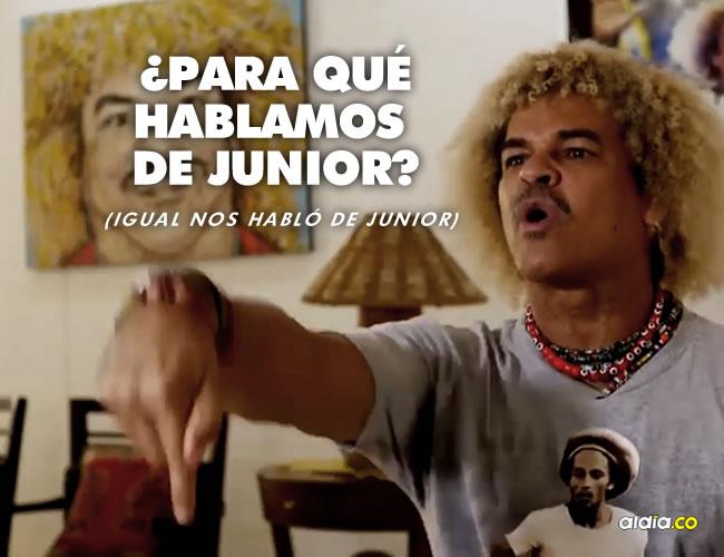 Carlos Valderrama está de acuerdo con el llamado de Borja y Falcao a la Selección. | Junior