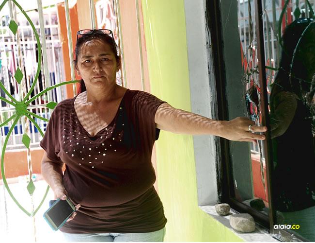 Judith Barrios Clavijo, de 52 años, manifestó que teme por su vida y le pidió a las autoridades que le brinden protección. | Al Día