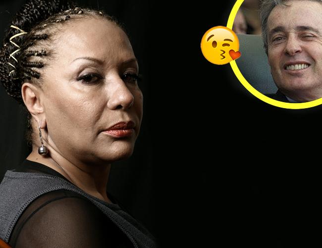 Piedad Córdoba y Álvaro Uribe han sido contradictores políticos desde el primer mandato de Uribe en 2002 | Foto Aldía