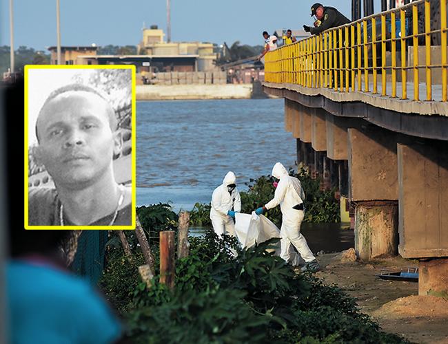 El macabro hallazgo ocurrió a las 2:00 de la tarde del jueves debajo de una tubería de agua situada en el barrio Villanueva, cerca de la zona portuaria de Barranquilla.   Foto: Archivo