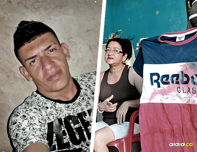 Esta era la camiseta que tenía puesta Jordanys José Lengua Arroyo, de 22 años, al momento del atentado en su contra.   AL DÍA
