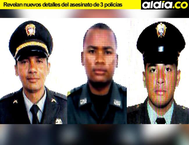 Ciro Herrera Duarte, Miguel Ángel Batista y Ervin Sayas Naizir fueron asesinados en un retén en la ciudad de Cartagena | Foto: AL DÍA.CO