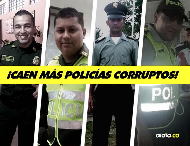 15 uniformados y 3 civiles hacían parte de la organización delictiva. | AL DÍA