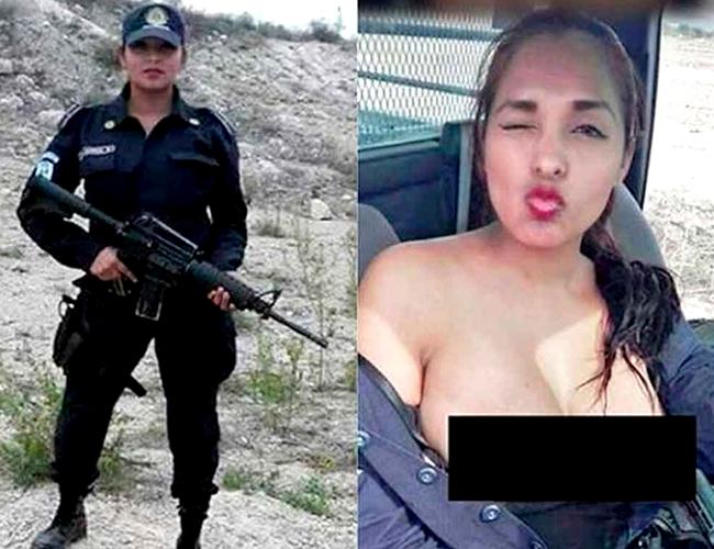 Nidia García es Policía de Proximidad de Escobedo, Nueva León. | Foto: periodicocorreo.com.mx