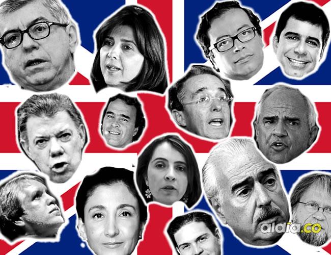 Buceando en YouTube encontramos las declaraciones en inglés de 15 políticos colombianos. ¿Se rajan? ¿Pasan raspando o les fue bien? | Al Día