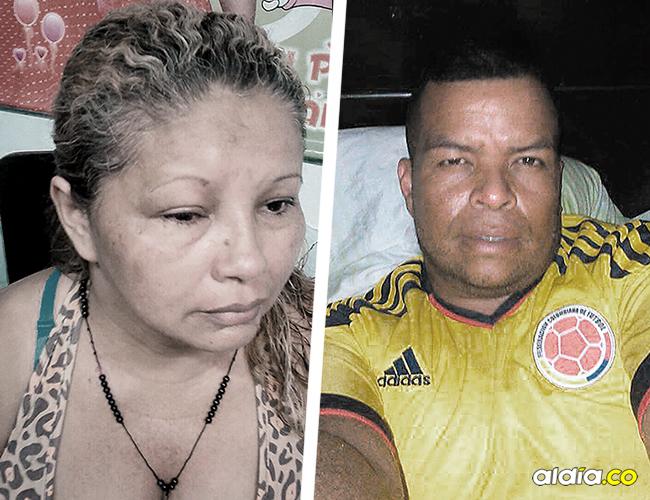 Jacqueline del Carmen Gutiérrez Díaz, la mujer golpeada. Israel Escorcia, señalado de golpear a la mujer. | AL DÍA