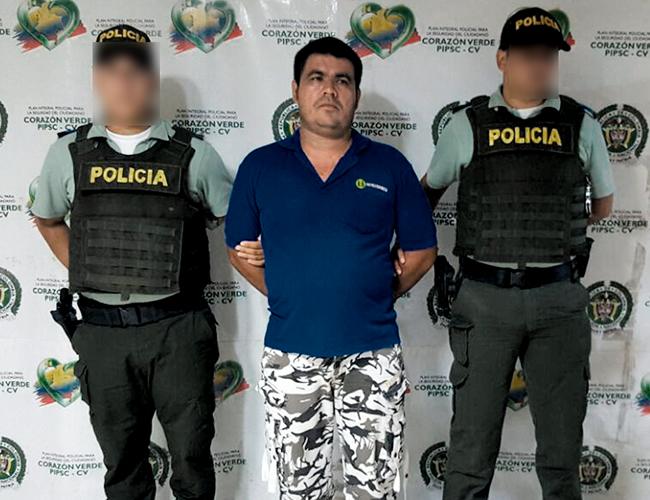 Luis Carlos Castañeda, de 32 años, señalado por el homicidio de Roberto Jesús Morelo Bernal. | AL DÍA