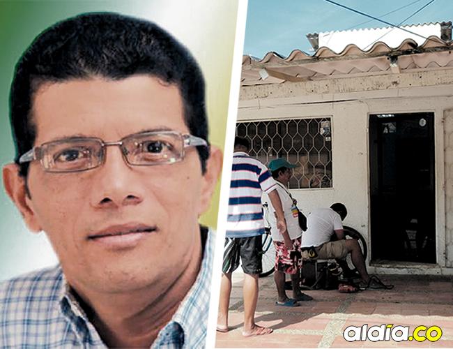 Esta es la casa de exalcalde y médico Carlos Altahona, en el barrio El Ancla, blanco de los delincuentes. | AL DÍA
