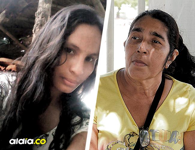Amira Mejía Martínez, madre de Rocío Mejía Vargas, sostiene que no deja de orar para la pronta recuperación de su hija. | AL DÍA