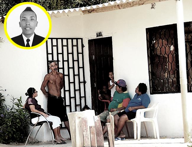 José Gregorio Ventura fue asesinado por pandilleros que cubrían sus rostros con pasamontañas. Intentó huir pero no lo logró | Foto: ALDÍA.CO