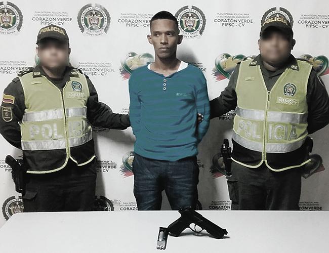Ronny Eguis fue capturado el 19 de noviembre del año pasado por atracar y herir a un pasajero de un bus en La Chinita. | Foto: Archivo