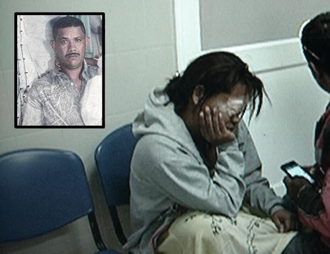 Carmen Torres Gómez, de 32 años, mujer atacada con químico. Gustavo Barrios Padilla, de 45 años, señalado como el atacante. | Foto: Archivo