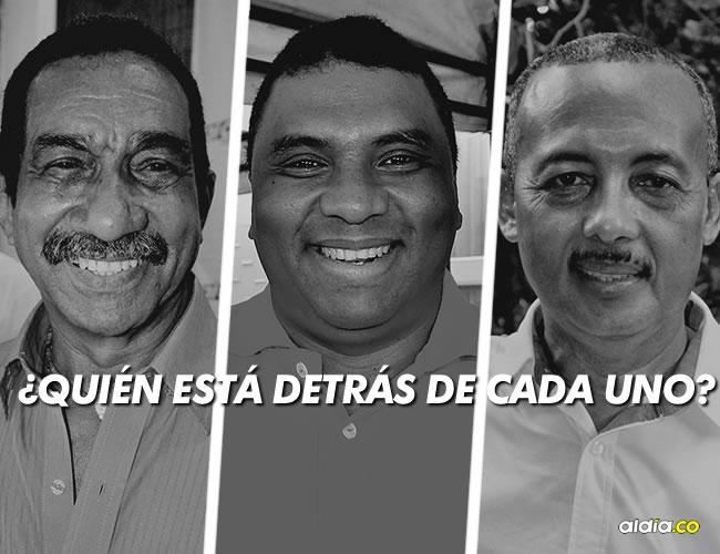 Luis Gómez Pimienta, Norberto 'Tico' Gómez y Wilmer González aspiran a ocupar la Gobernación de La Guajira | Al Día
