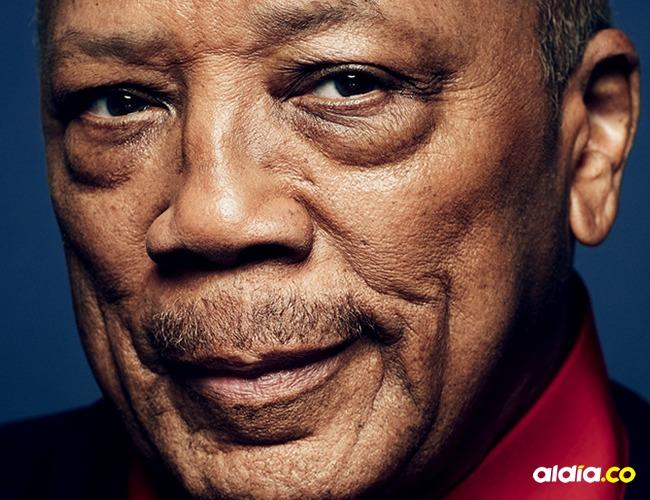 Quincy Jones, productor musical.