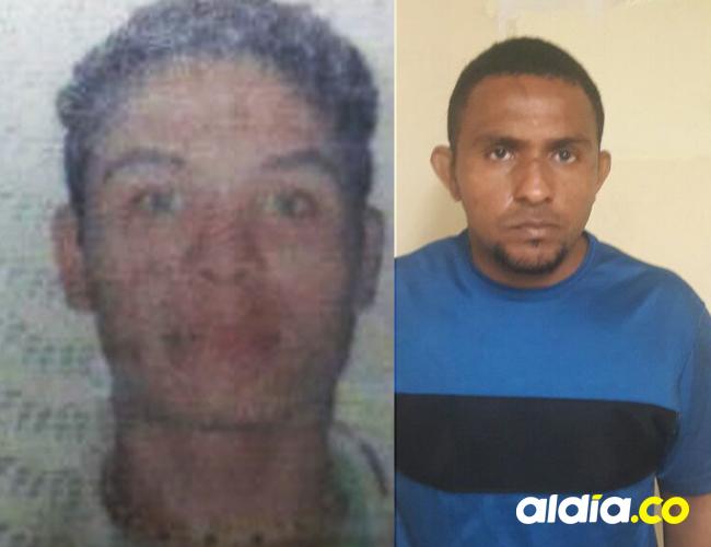 Néstor Alfonso Álvarez (izquierda), víctima, y Dustin Bladimir Ferrer Rall, victimario.