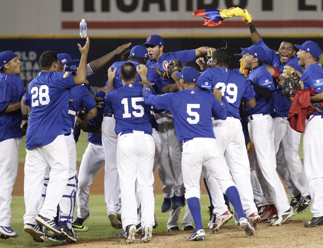 Por primera vez en la historia el equipo de béisbol colombiano clasifica a un mundial. | Foto: Archivo