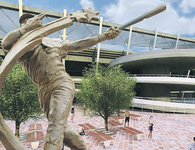 La estatua del expelotero barranquillero la ubicarían en los alrededores del nuevo estadio Édgar Rentería | Foto archivo