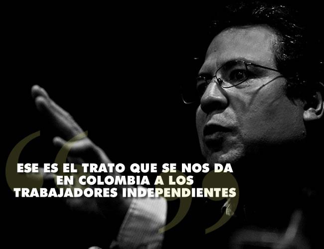 El reconocido cronista se queja del desamparo de los trabajadores independientes en el país | Foto: Al Día y Revolución tres punto cero