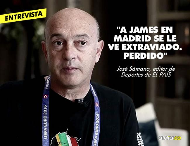 José Sámano tiene 30 años de trayectoria y desde el 2012 ocupa el cargo de editor. Ha viajado por todo el mundo cubriendo Juegos Olímpicos, Mundiales de fútbol y dictando charlas y conferencias. | Archivo