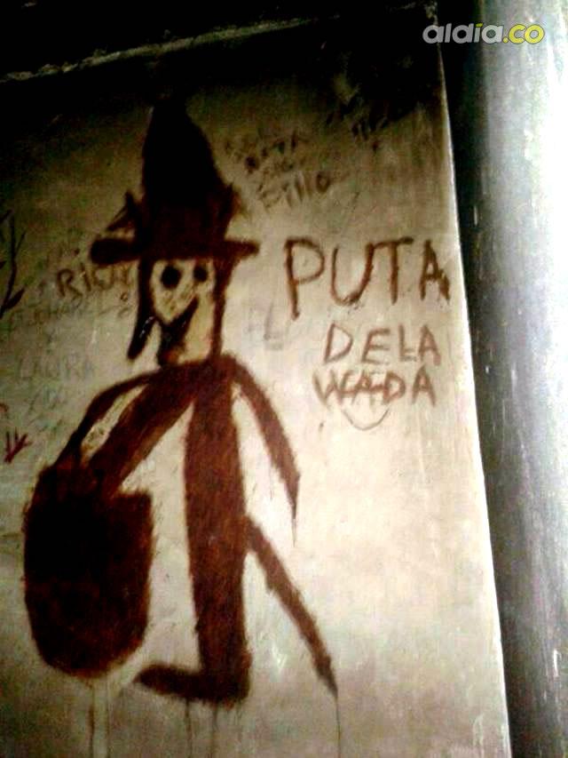 """satanismo - """"EL PUTA WADA"""" Demonio invocando en las carceles de Barranquilla"""