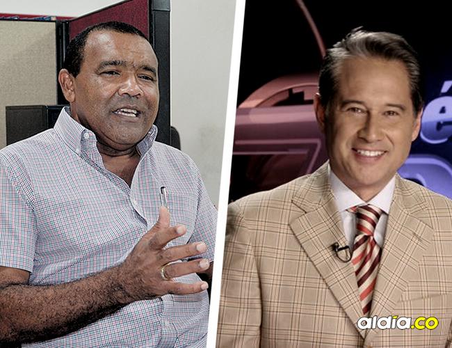 Rafael Ceballos Sierra, exalcalde demandante. Manuel Teodoro, director del programa Séptimo Día. | AL DÍA