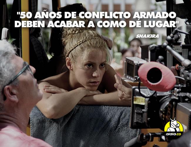 Shakira respalda el proyecto de ley del representante Eduardo José Tous de la Ossa que busca garantizar la alimentación a los niños. | EFE