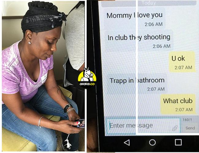 La policía informó que al menos una docena de personas se refugiaron en un baño. Uno de ellos, Eddie Justice, quien logró textearle a su madre durante el atentado | The Telegraph