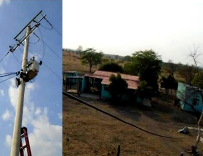 Electricaribe señala que de manera ilegal y anti técnica el transformador fue puesto en funcionamiento en la finca La Victoria | Electricaribe