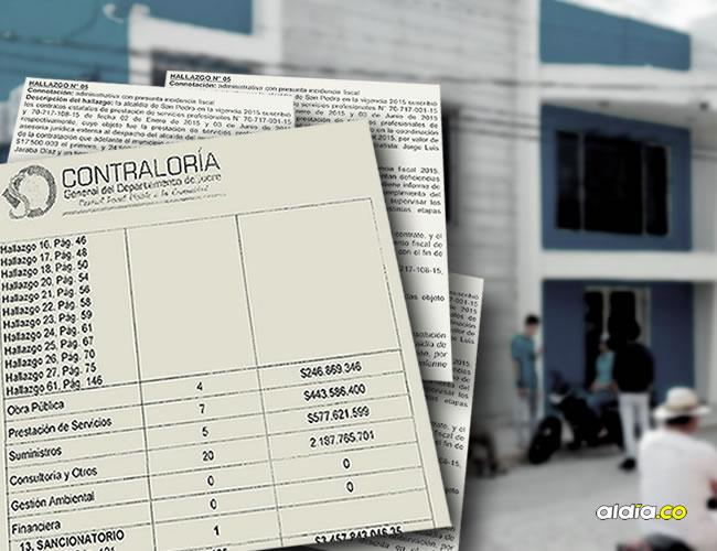 Fue tal el presunto despilfarro de recursos en la vigencia 2015 en la Alcaldía de San Pedro que el mandatario le entregaba mensualmente una bonificación por valor de 600 mil pesos, que al año suma $7.200.000, al escolta. | Al Día