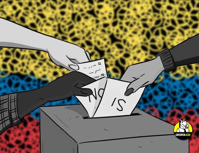 Quienes quieran participar en el plebiscito deberán votar en el mismo lugar en el que lo hicieron en las últimas elecciones. | ALDIA.CO