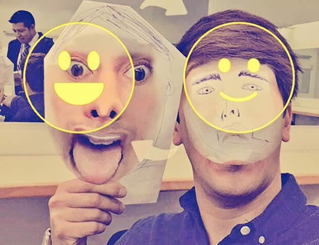 El intercambio de caras en snapchat se convirtió en pasatiempo para los usuarios de la aplicación. Pero no todas salieron bien. | Foto: Twitter