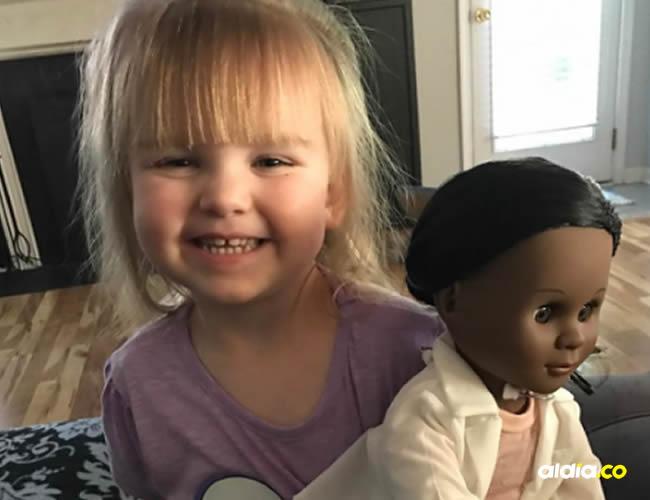 Sophia es de Carolina del Norte y demuestra que no tiene prejuicios sociales | Cortesía