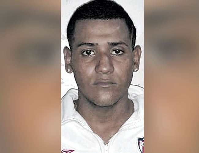 Miguel Torregrosa, detenido, es soldado regular | Foto: Policía