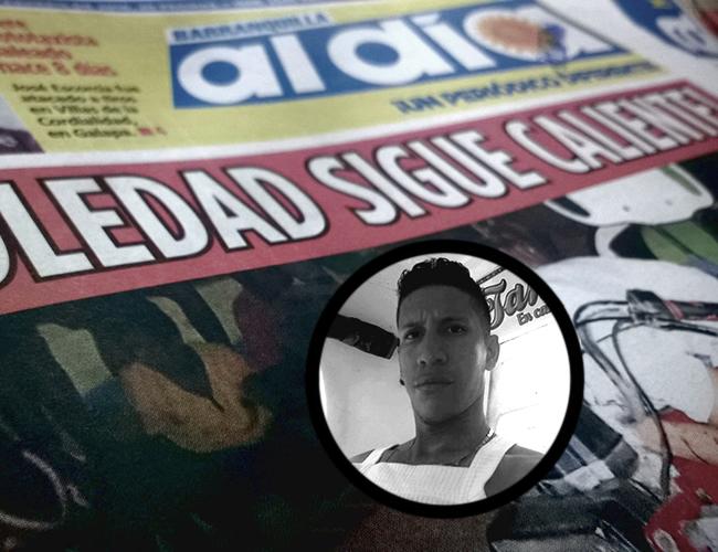 Leonardo Fabio Barceló quedó muerto sobre el manubrio del motocarro que conducía. Le propinaron dos balazos en la cabeza. | Foto: Al Día