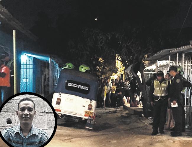 Geovanny Bacca, de 35 años, el motocarrista asesinado junto a Hernán Villa en una casa en Las Colonias. | Foto: Archivo