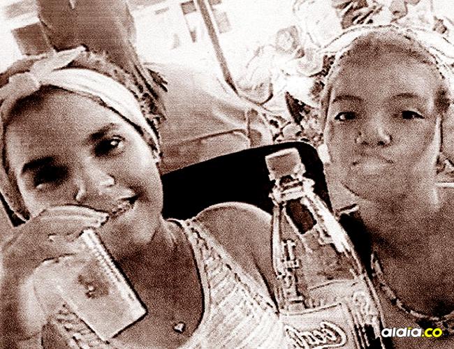 Roselín Paola Aleans Méndez y Lucía Isabel Palma González, de 15 años, estaban desaparecidas desde el sábado anterior.   AL DÍA